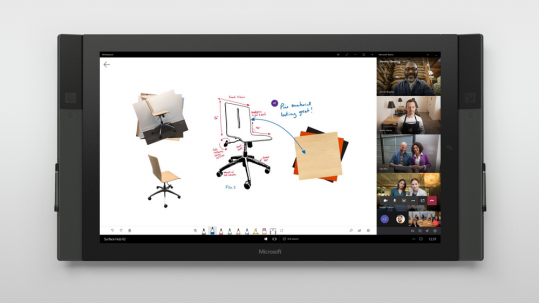 whiteboard surface hub